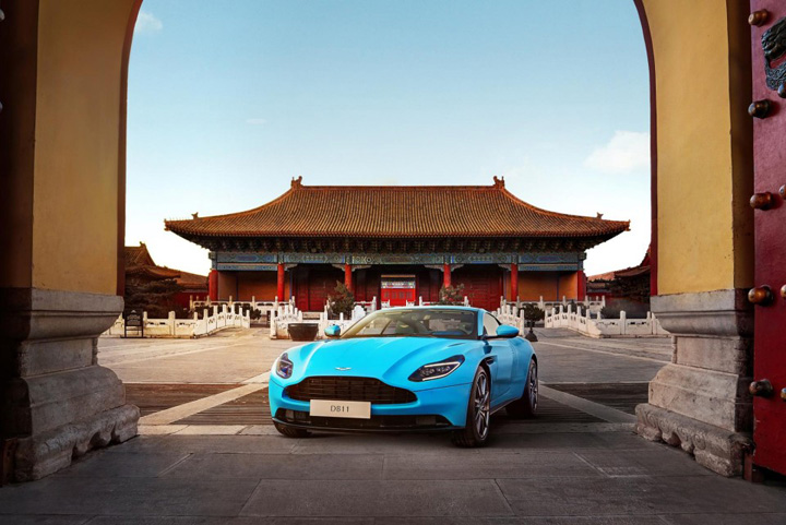 aston martin Aston Martin vrea sa cucereasca China