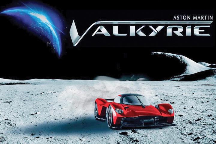 aston Aston Martin vopsit cu praf de pe Luna