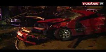 busite 350x173 O soferita a facut prapad in cale: foarte multe masini distruse, la Constanta
