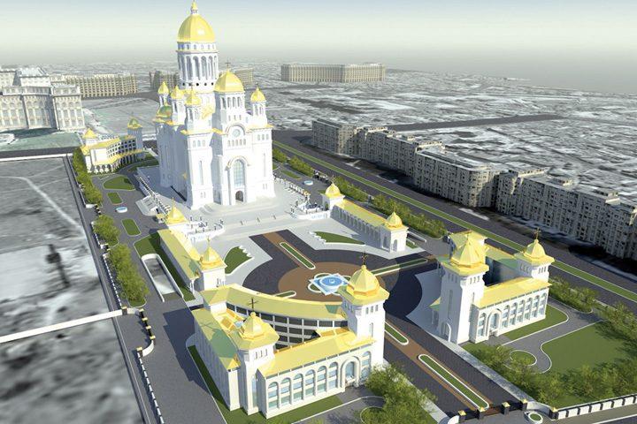 catedrala 720x480 Capii Bisericilor Ortodoxe, invitati la sfintirea Catedralei Neamului