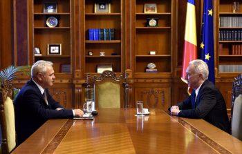 discutii 350x223 Dragnea, discutie cu ambasadorul american, la Parlament