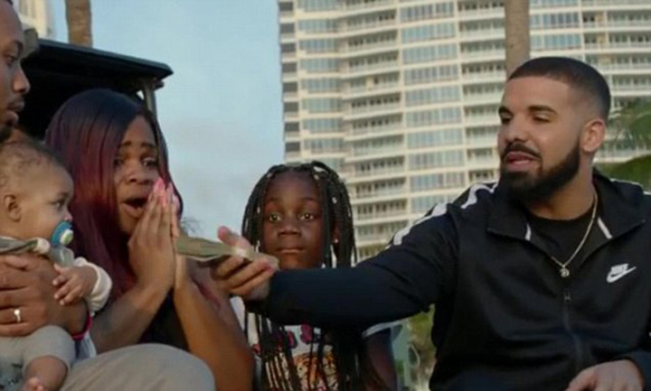 drake 1 Rapperul Drake daruieste 1 milion de dolari saracilor din Miami