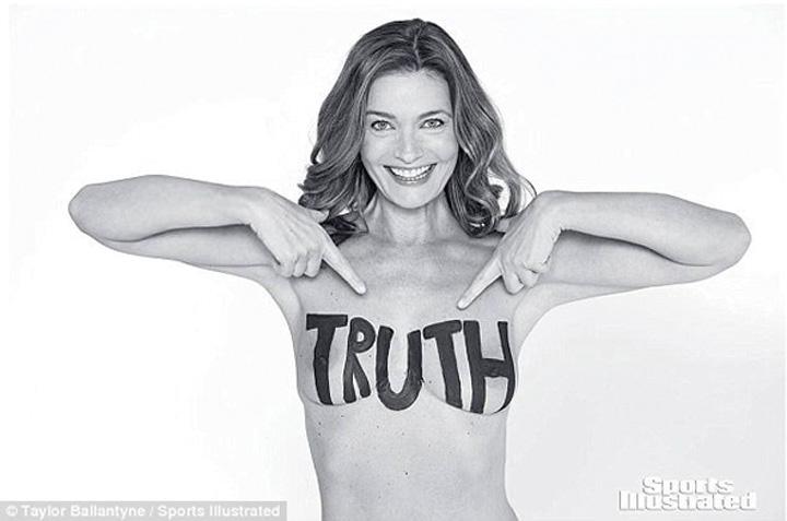 ea Goala, la 52 de ani, in Sports Illustrated
