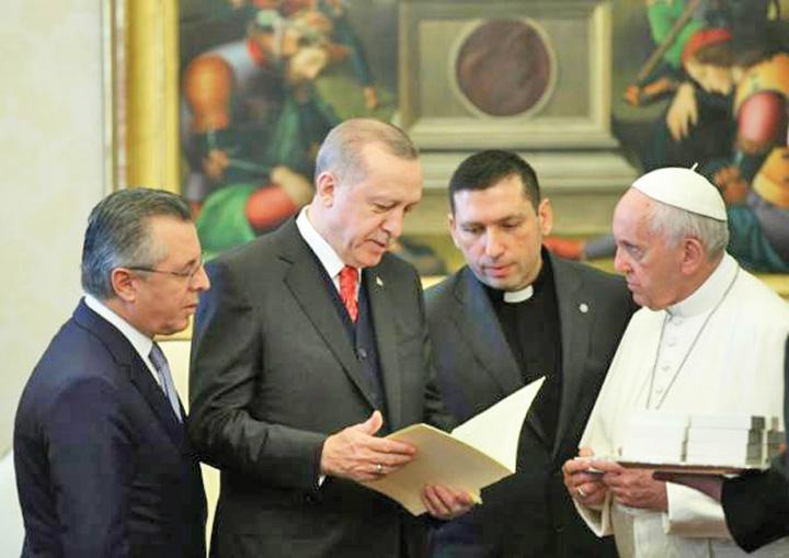 erdogan 1 Erdogan a descins la Vatican