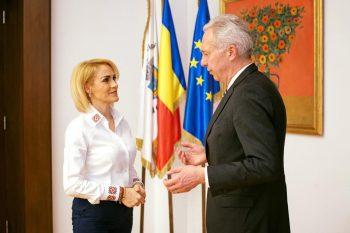 firea 1 350x233 Primarul Firea, discutii cu ambasadorul Klemm