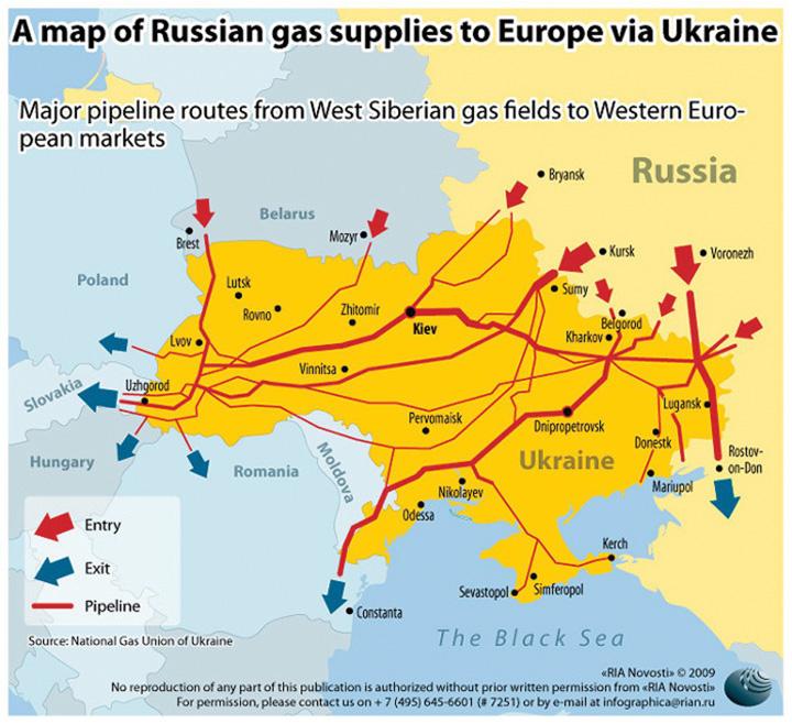 gazoducte Austriecii transforma Romania in inamicul energetic al Rusiei