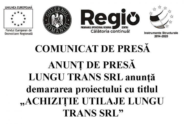 """home lungu 1 720x485 ANUNT DE PRESĂ LUNGU TRANS SRL anunta demararea proiectului cu titlul """"ACHIZITIE UTILAJE LUNGU TRANS SRL"""""""