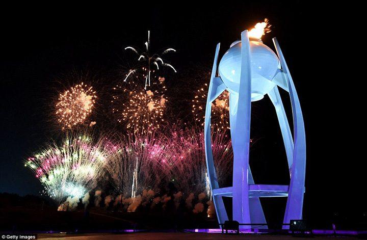 inchidere JO 9 720x471 Jocurile Olimpice de iarna de la PyeongChang s au inchis