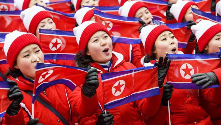 """jocuri olimpice 1 Cat costa cele 229 de """"pom pom girls"""" trimise de Kim la JO"""