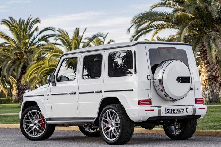 mercedes1 720x481 Noul Mercedes G 63  AMG se dezvaluie