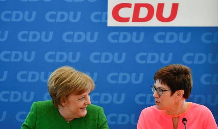merkel bun Ea este succesoarea lui Merkel