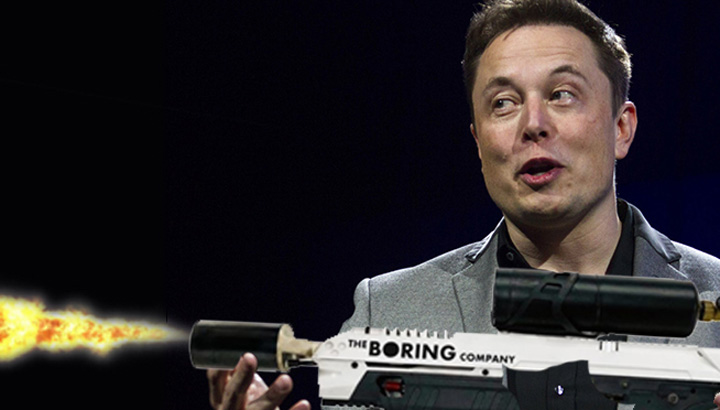 musk 2 Patronul Tesla a vandut aruncatoare de flacari de 10 milioane de dolari