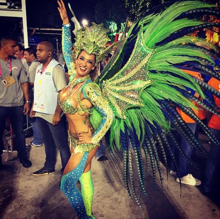 regina 22 Regina  carnavalului de la Rio e o englezoaica