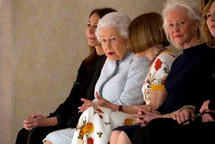 regina 3 720x482 Regina Elisabeta a II a la Saptamana Modei