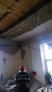 tavan 169x300 Doi raniti, dupa prabusirea unui tavan intr un camin de batrani