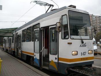 tramvai 350x263 Accident rutier cu raniti in Capitala. Circulatia tramvaielor, afectata