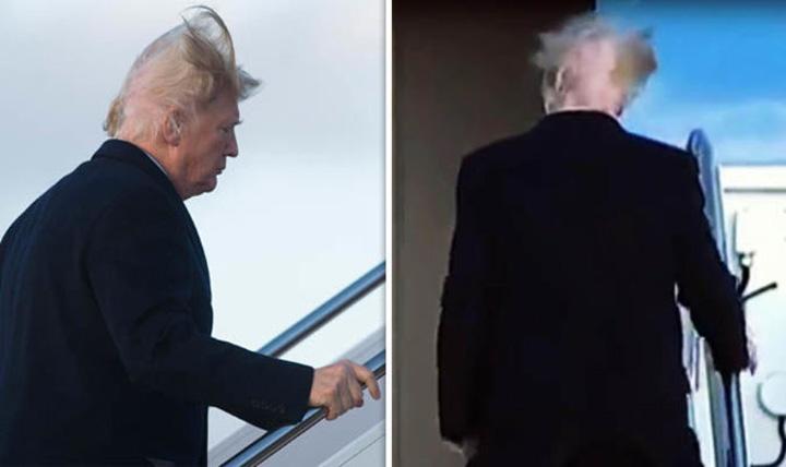 trump 1 Trump si a aratat chelia