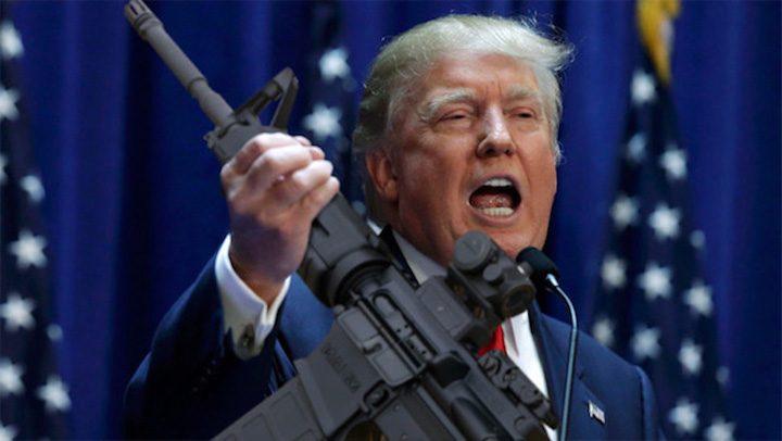 trump 4 720x406 Dansul lui Trump in patul de arma