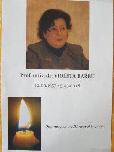 28795041 987659094716514 8457727584404691337 n 225x300 A murit Violeta Barbu, sotia fostului ministru al Culturii, Daniel Barbu