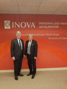 Primarul Dan Tudorache alaturi de Todd Stottlemyer director executiv Inova Personalized Health 225x300 Primarul sectorului 1, in SUA. Intalniri importante