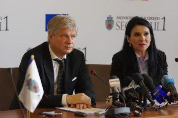 Primarul Sectorului 1 Dan Tudorache si Ministrul Sanatatii Sorina Pintea 350x233 Detalii despre proiectul noului spital de urgenta din Capitala, cu peste 1000 de paturi