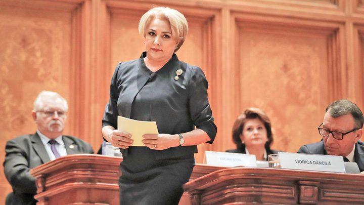 Viorica Dancila Romania prime minister AP1 720x405 Dancila, imuna la gafe