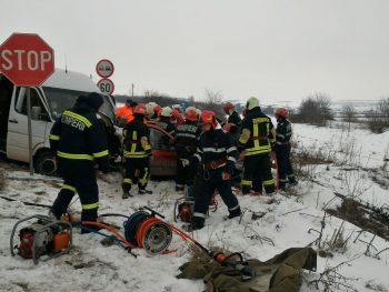 Accident cu urmari grave, pe E 581