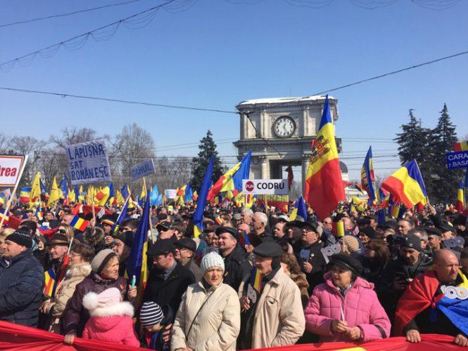adunare chisinau 665x500 Orban, viraj catre Basescu