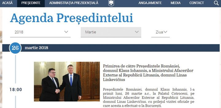agenda 720x352 Iohannis s a usurat pe Unire