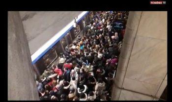 aglom 350x208 A fost aglomeratie la metrou. Ce masuri anunta Metrorex