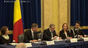 bilant 350x191 Presedintele Iohannis si sefa DNA, la prezentarea bilantului Ministerului Public
