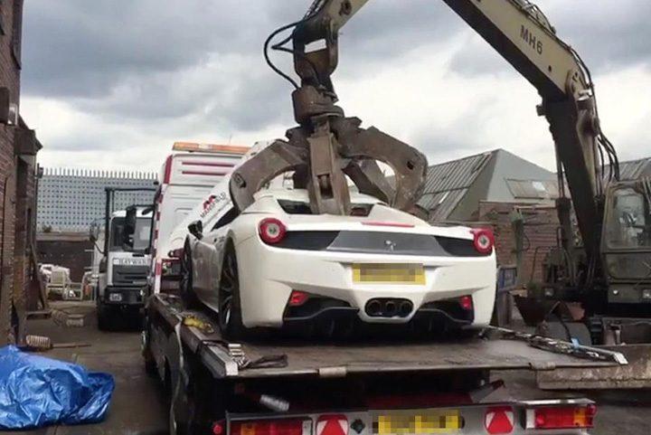 concasat ferrari1 720x481 Ferrari concasat din greseala