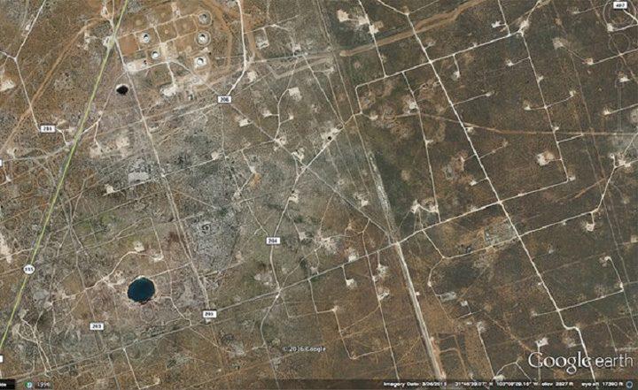 gaura din satelit 2 1 1 720x441 Gaurile Diavolului, surparile de teren care nu pot fi explicate