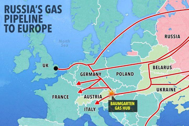 harta gazelor 720x481 Gazele, arma rusilor pentru invazia Europei