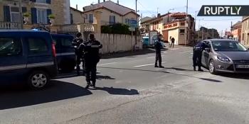 incid 350x175 UPDATE Luare de ostatici intr un supermarket din Franta. Suspectul, ucis (VIDEO)