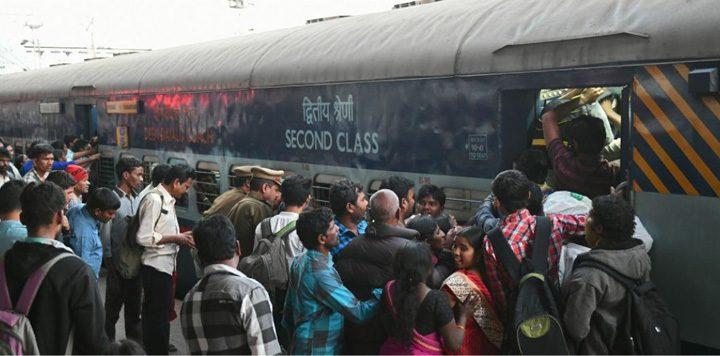 india 720x356 Căile ferate indiene: 20 de milioane de candidați pentru 100.000 de posturi