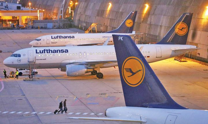 jaf 720x431 Jaf de 5 milioane de dolari intr un avion Lufthansa