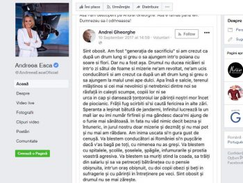 msj 350x263 Andreea Esca isi aminteste cum l a descoperit pe Andrei Gheorghe