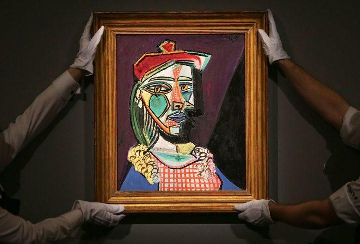 picasso 720x489 Un Picasso, vandut cu aproape 50 de milioane de lire sterline