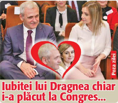 poza zilei pt Alteta Sa Iubitei lui Dragnea chiar i a placut la Congres...