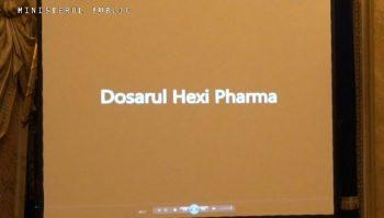 prezentare 350x199 Hexi Pharma si dosarul Mineriadei din 90, printre cauzele reprezentative mentionate de Lazar la bilant