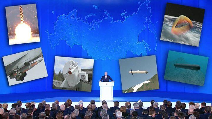 putin 1 720x406 Superarmele lui Putin, amenintare sau cacealma?