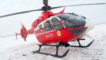 salvare de pe munte 350x197 Persoana accidentata grav. Actiune de salvare cu elicopterul in masivul Fagaras