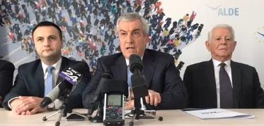 tariceanu 1 1 E oficial: Meleşcanu şi cei trei membri ALDE propuşi de Dăncilă miniştri, daţi afară din partid