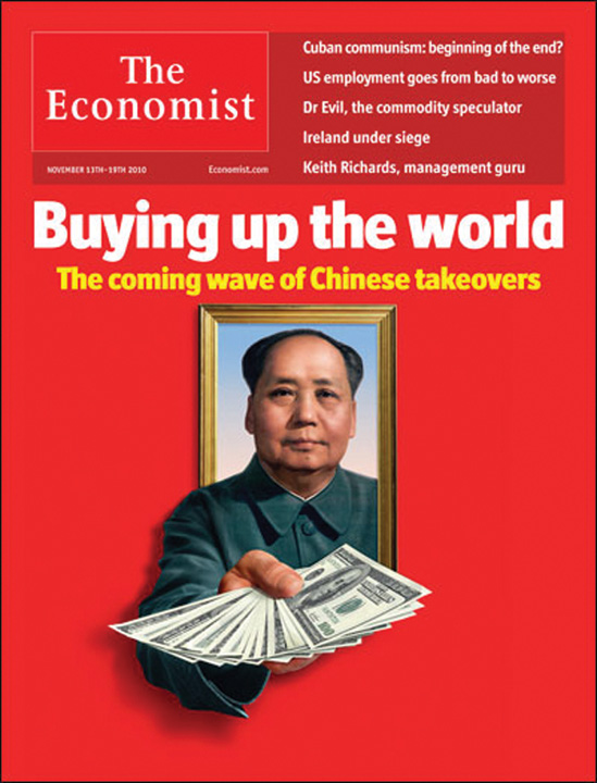 Buying up the world China cumpara Europa la bucata