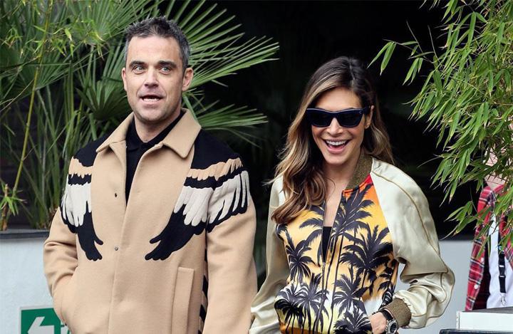 Robbie sotie marijuana Robbie Williams a primit cadou o cultura de marijuana
