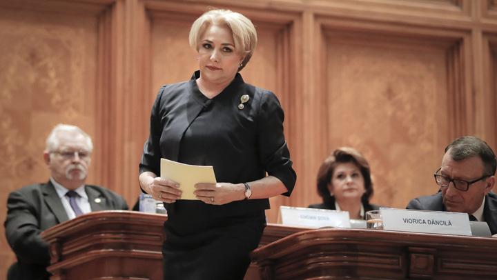 "Viorica Dancila Romania prime minister AP1 Dancila a dat de dracu: trebuie sa pronunte ""intalnire cvadrilaterala"""