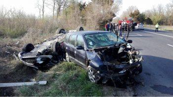 accid 350x196 Accident grav in Constanta, pe DN 36: mai multi raniti