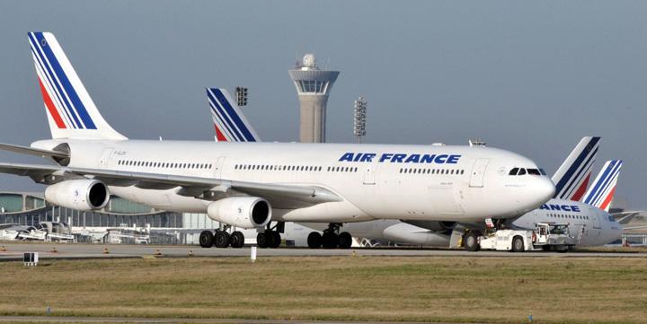 air france Air France a anulat 25% din zboruri din cauza grevei
