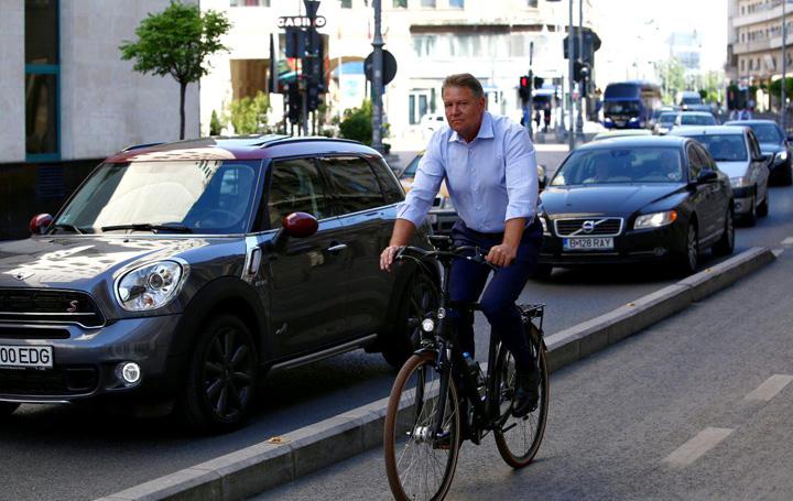 bici Biciclistul s a apucat de politica